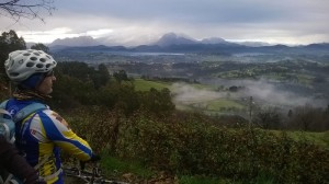 La Sierra del Aramo desde la del Naranco