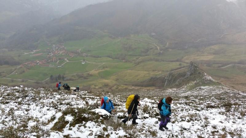 Sobre el valle del Dobra